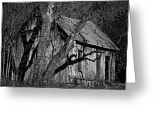 Old Clark Homestead Lost Valley Greeting Card