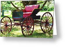 Old Coach In Effingham Greeting Card