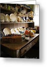 Old Country Kitchen Greeting Card