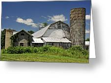 Old Dairy Barn 2 Greeting Card