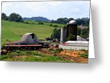 Old Dairy Barn Greeting Card