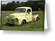 Old Dodge In Mo Greeting Card