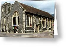 Old English Church Uxbridge Uk Greeting Card