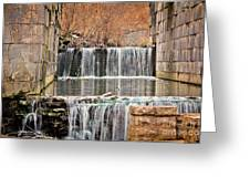 Old Erie Canal Locks Greeting Card