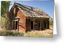 Old Farm Homestead - Woodland - Utah Greeting Card