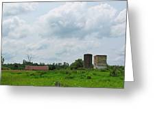 Old Farm Ruins 02 Greeting Card