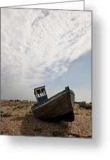 Old Fishing Boats Greeting Card