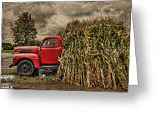 Old Ford Truck Greeting Card by Pat Abbott