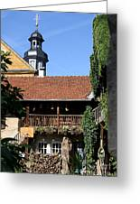 Old Franconian House Greeting Card