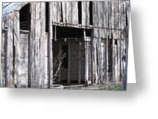 Old Frisco Barn Greeting Card