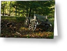 Old Frontier Wagon 1 Greeting Card