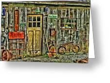Old General Store Hdr Greeting Card