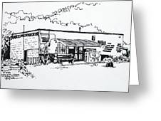 Old Grocery Store - W. Delray Beach Florida Greeting Card