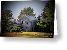 Old Home In Indiana Greeting Card