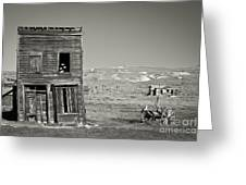 Old House In Bodie Greeting Card