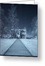 Old  House Infrared Greeting Card