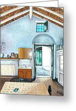 Old House Pisticci Greeting Card