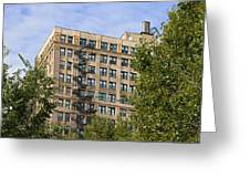 Old Iron Fire Escape Chicago Il Greeting Card by Christine Till