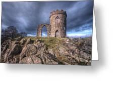 Old John Mug Tower 3.0 Greeting Card