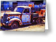 Old Junk Truck Greeting Card