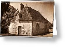 Old Kitchen House Greeting Card
