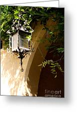 Old Lantern Greeting Card