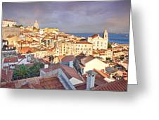 Old Lisboa Greeting Card