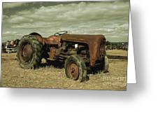 Old Massey Greeting Card