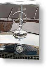 Old Mercedes Logos Greeting Card