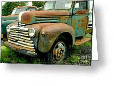 Old Mercury Truck Greeting Card