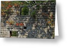 Old Mill Wall Greeting Card