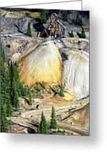 Old Mine Colorado Greeting Card