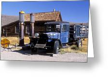 Old Mining Days - Bodie, Ca Greeting Card