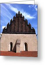 Old New Synagogue Greeting Card by Linda Woods