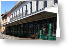 Old Pacific Hotel . San Jose California . 7d13019 Greeting Card