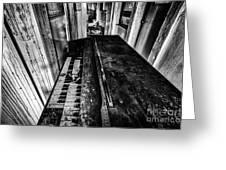 Old Piano Organ Greeting Card by John Farnan