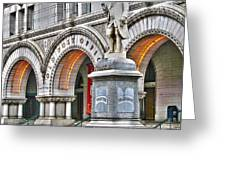 Old Post Office Pavillion Washington Dc Greeting Card