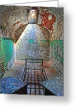 Old Prison Cell Greeting Card