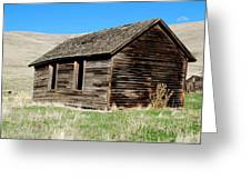 Old Ranch Hand Cabin Greeting Card