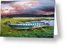 Old Row Boats Greeting Card
