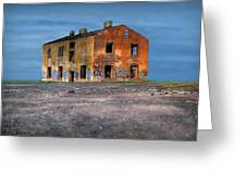 Old Ruined House Greeting Card