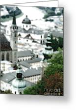 Old Salzburg Greeting Card