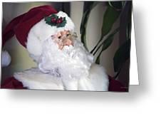 Old Santa Claus Greeting Card