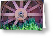 Old Spokes Greeting Card