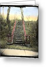 Old Stairs Greeting Card