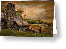 Old Stone Countryside Greeting Card