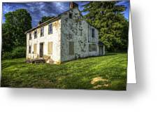 Old Tenants Quarters Greeting Card