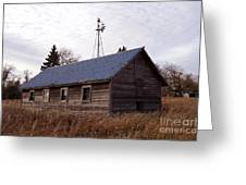Old Time Barn From Days Gone By Greeting Card