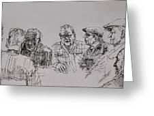 Old-timers  Greeting Card