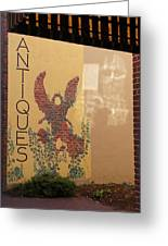 Old Town Grants Pass Detail Greeting Card